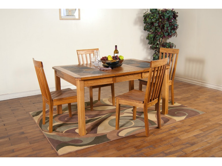 Sunny Designs Dining Room Sedona Extension Table With ...