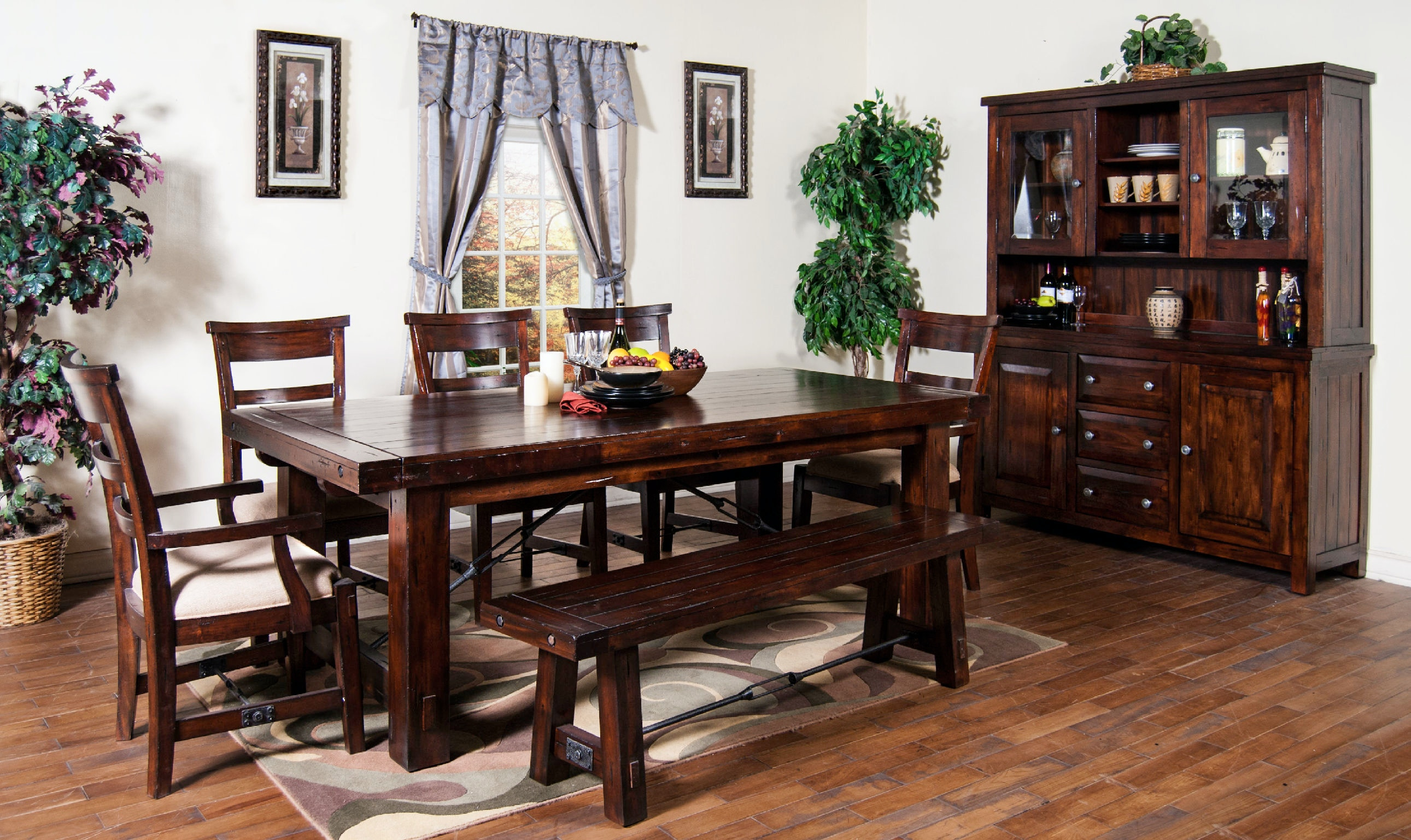 Sunny Designs Dining Room Bench 1615RM Eastern Furniture  : 1316rm2c1604rm2c1605rm2c1615rm2c2428rm 2 from www.easternfurniture.com size 1024 x 768 jpeg 104kB