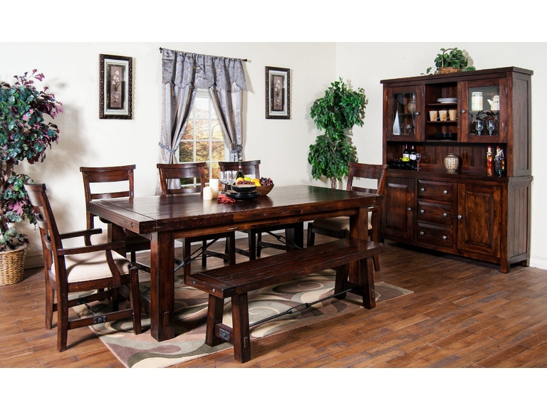 Sunny Designs Dining Room Vineyard Extension Table 1316RM At Tip Top Furniture