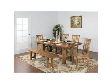 Sunny Designs Sedona Dining Table 1356RO