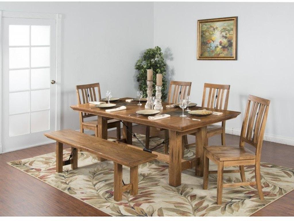 Sunny Designs Dining Room Sedona Dining Table 1356RO ...