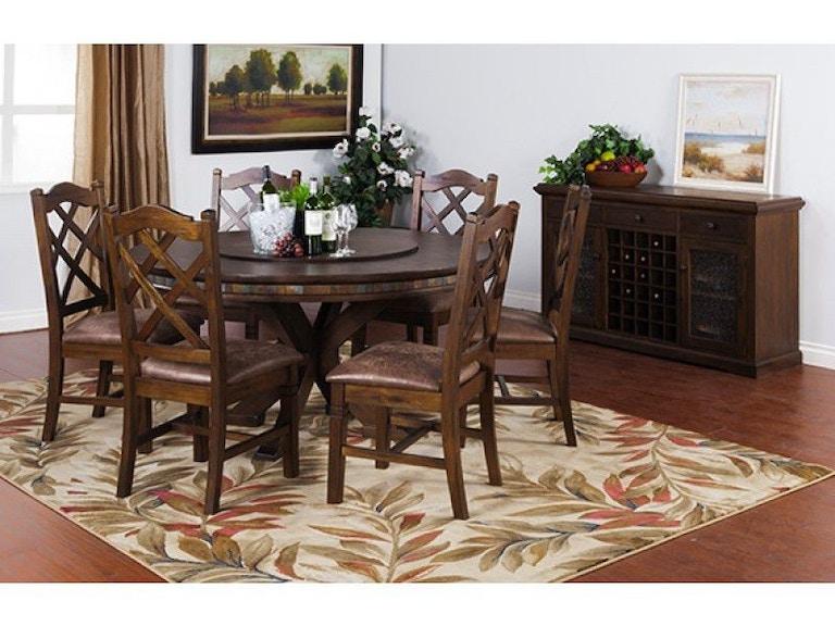 Sunny designs dining room savannah rnd table with lazy susan sunny designs savannah rnd table with lazy susan 1365ac workwithnaturefo