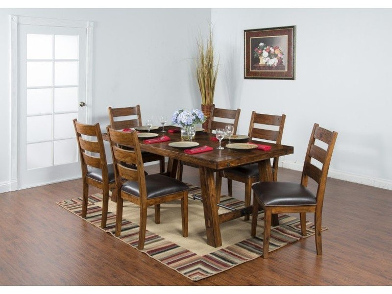 Sunny Designs Dining Room Tuscany Table 1367vm At China Towne Furniture
