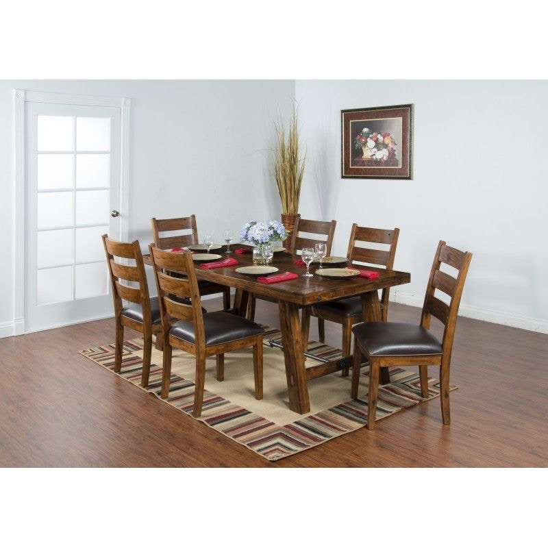 Sunny Designs Dining Room Tuscany Dining Table 1367VM At China Towne  Furniture