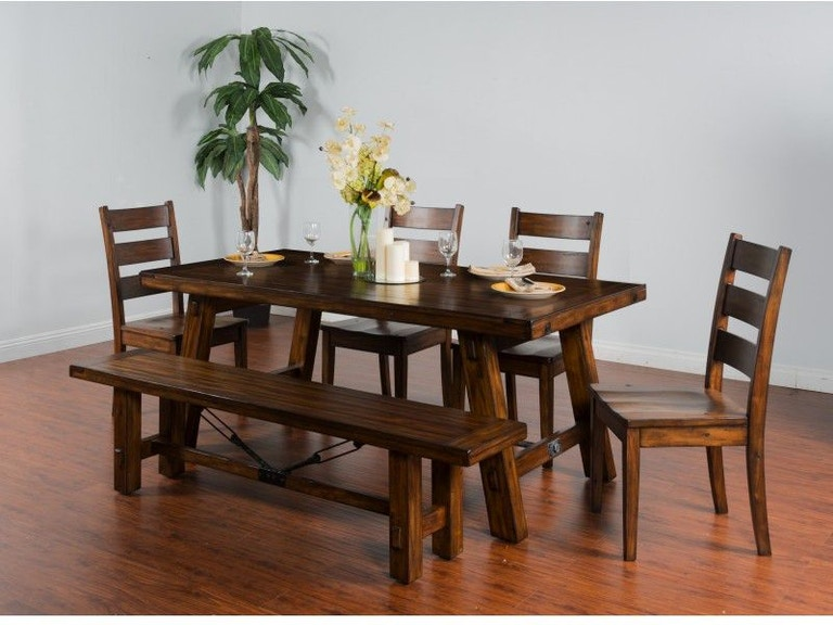 Sunny Designs Dining Room Tuscany Extension Table 1380VM At China Towne Furniture