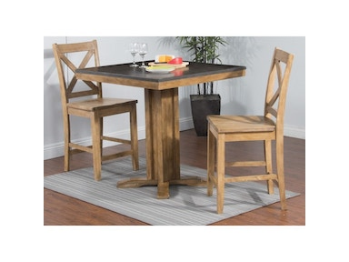 Sunny Designs Blue Moon Pub Table 1391DS-36