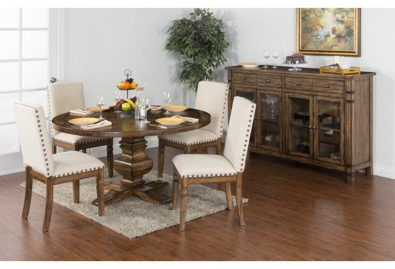 Sunny Designs Dining Room Cornerstone Round Table