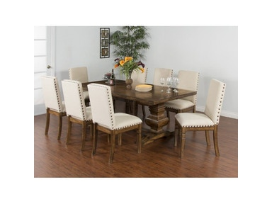 Sunny Designs Extension Dining Table 1396BM