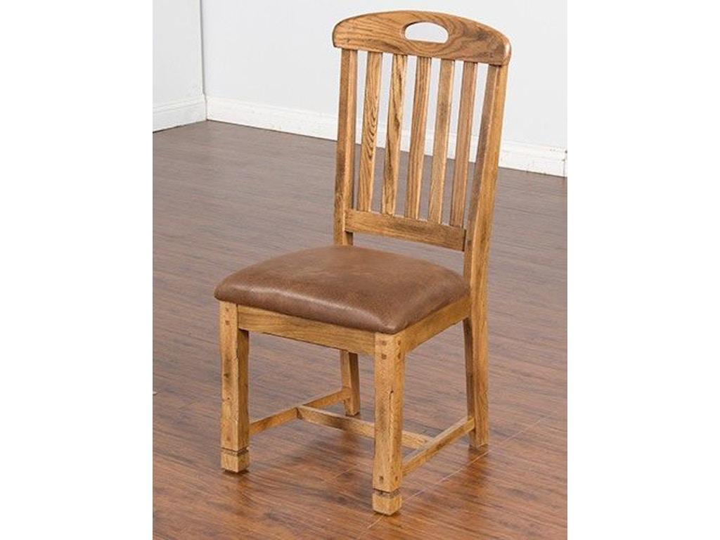 dining room sedona slatback side chair 1416ro ct at seaside furniture