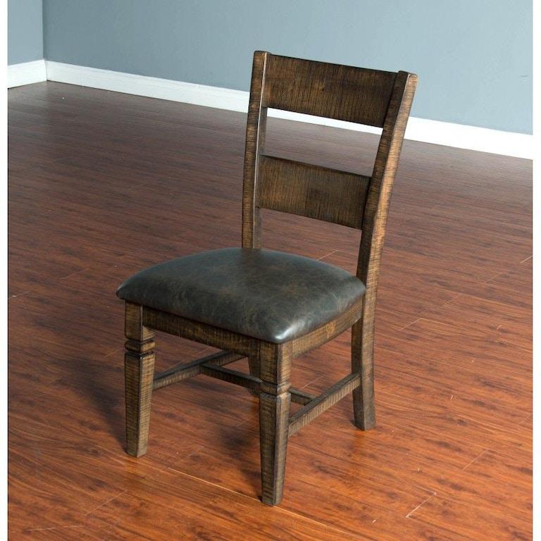 Sunny Designs Dining Room Homestead Ladderback Chair