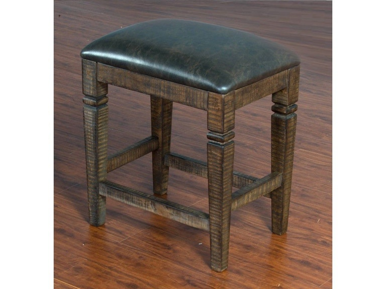 Awesome Sunny Designs Bar And Game Room Homestead 24 Backless Stool Lamtechconsult Wood Chair Design Ideas Lamtechconsultcom