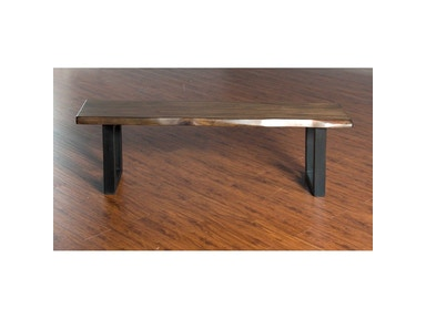 Sunny Designs Live Edge Bench 1441NM