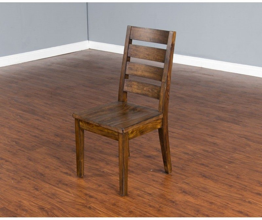 Sunny designs dining room nature walk 4 ladderback chair for Design source furniture az