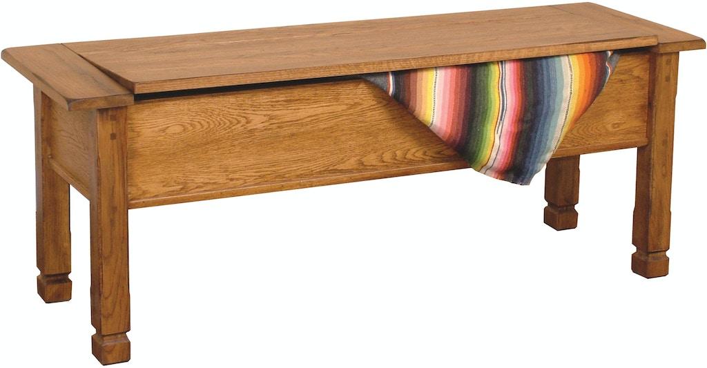 Awe Inspiring Sunny Designs Living Room Sedona Side Bench With Storage Dailytribune Chair Design For Home Dailytribuneorg