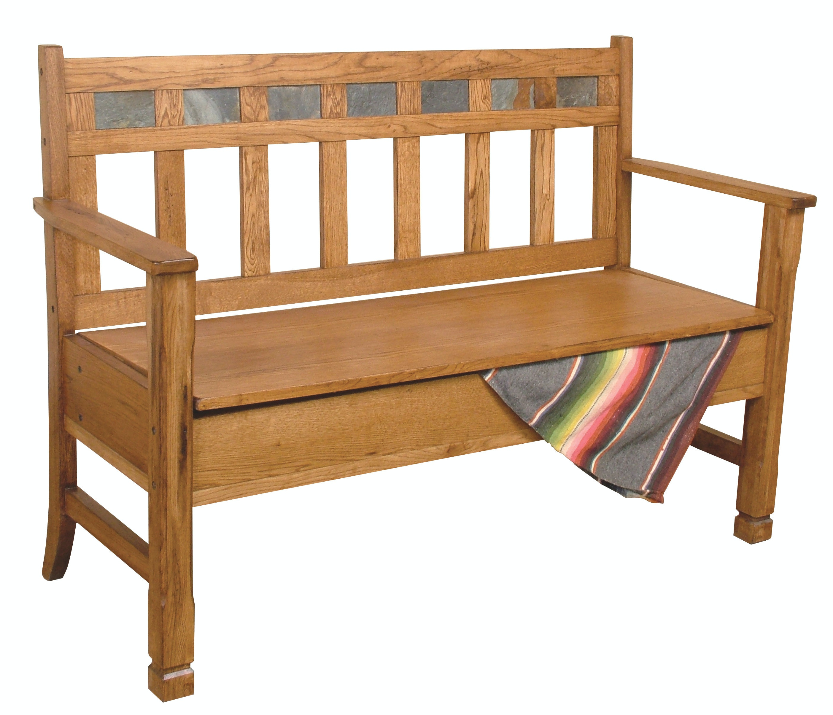 Sunny Designs Bench 42 With Storage/Wooden Seat Sedona 669329