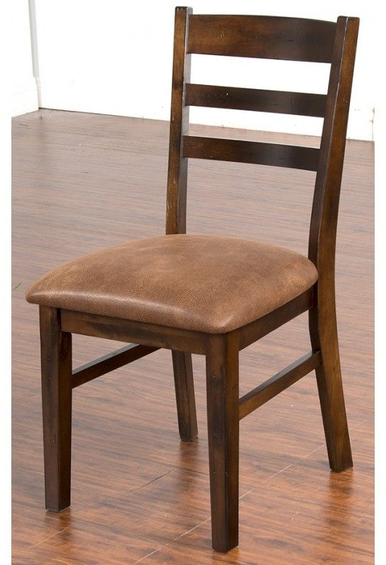 designs dining room santa fe ladder back chair with