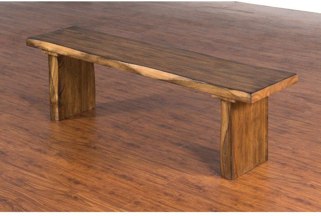 Sunny designs dining room live edge bench 1617nw design for Design source furniture az