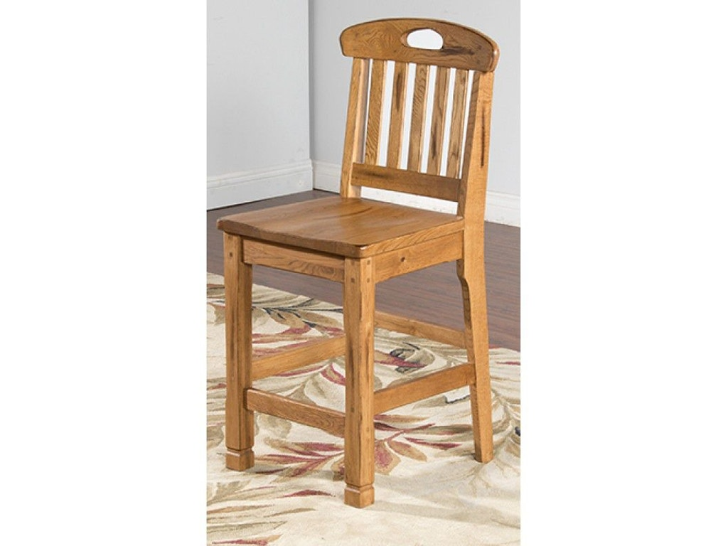 Sunny Designs Bar And Game Room Slatback Barstool 1820ro China Towne Furniture Solvay Ny