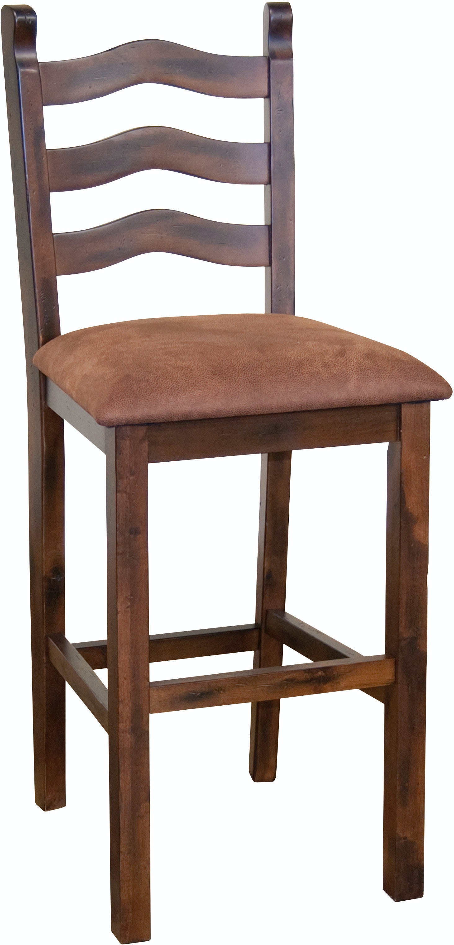 Sunny Designs Bar And Game Room Ladderback Stool 1859dc
