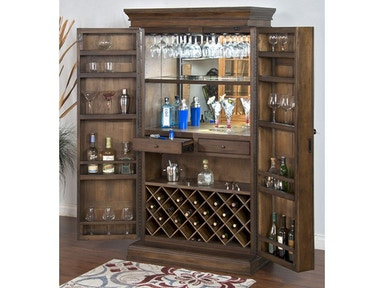 Savannah Traditional Bar Armoire 1913AC