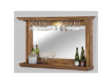 Hanging Backbar With Mirror And Led Light 1916RO
