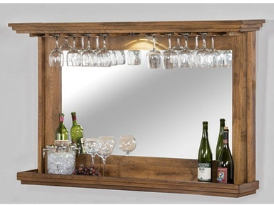 Sunny Designs Hanging Backbar With Mirror And Led Light 1916RO