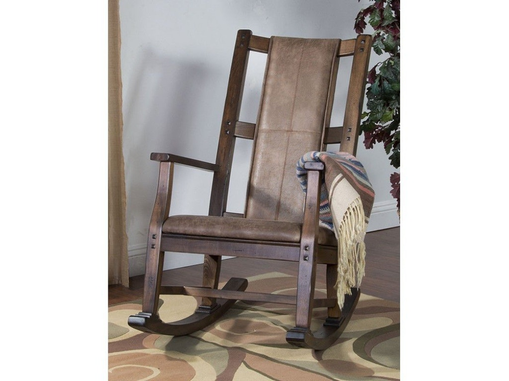 Sunny Designs Living Room Savannah Rocker With Cushion Seat And Back 1935ac Seaside Furniture