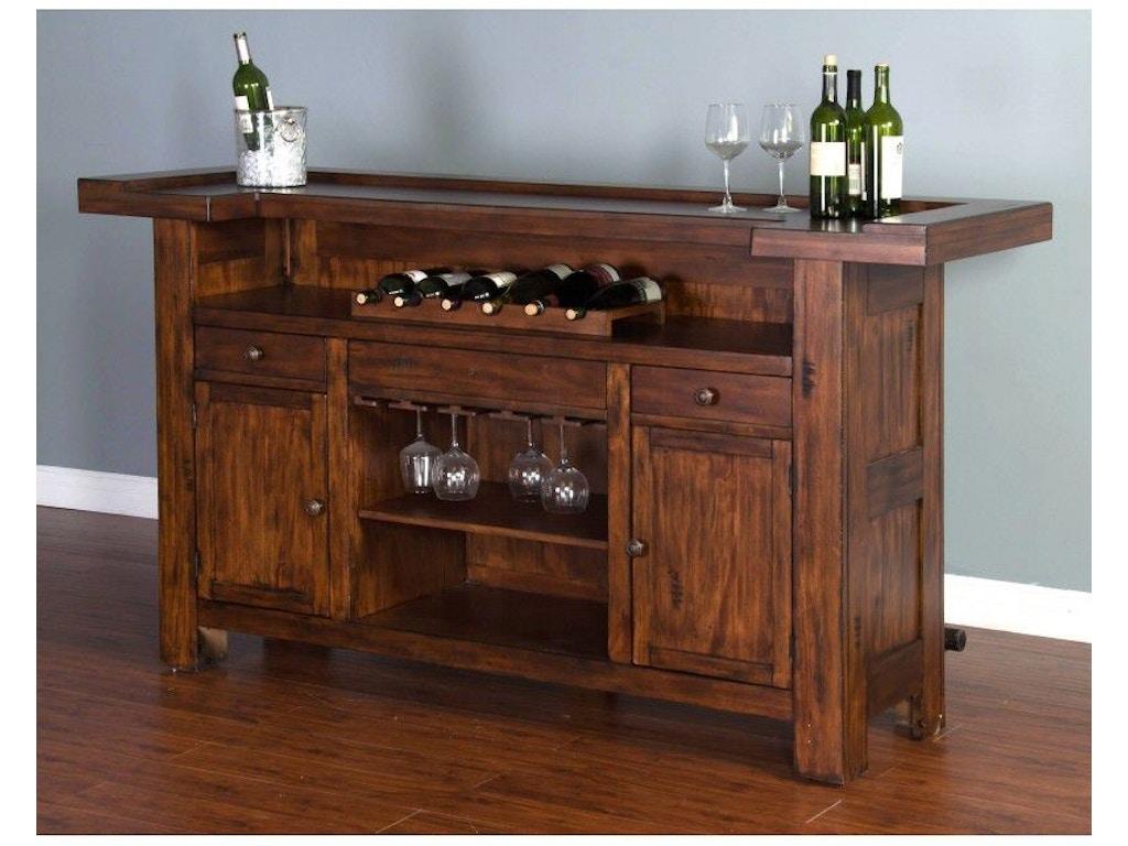 Sunny Designs Bar And Game Room Tuscany 78 Bar 1959vm Seaside Furniture Toms River Brick