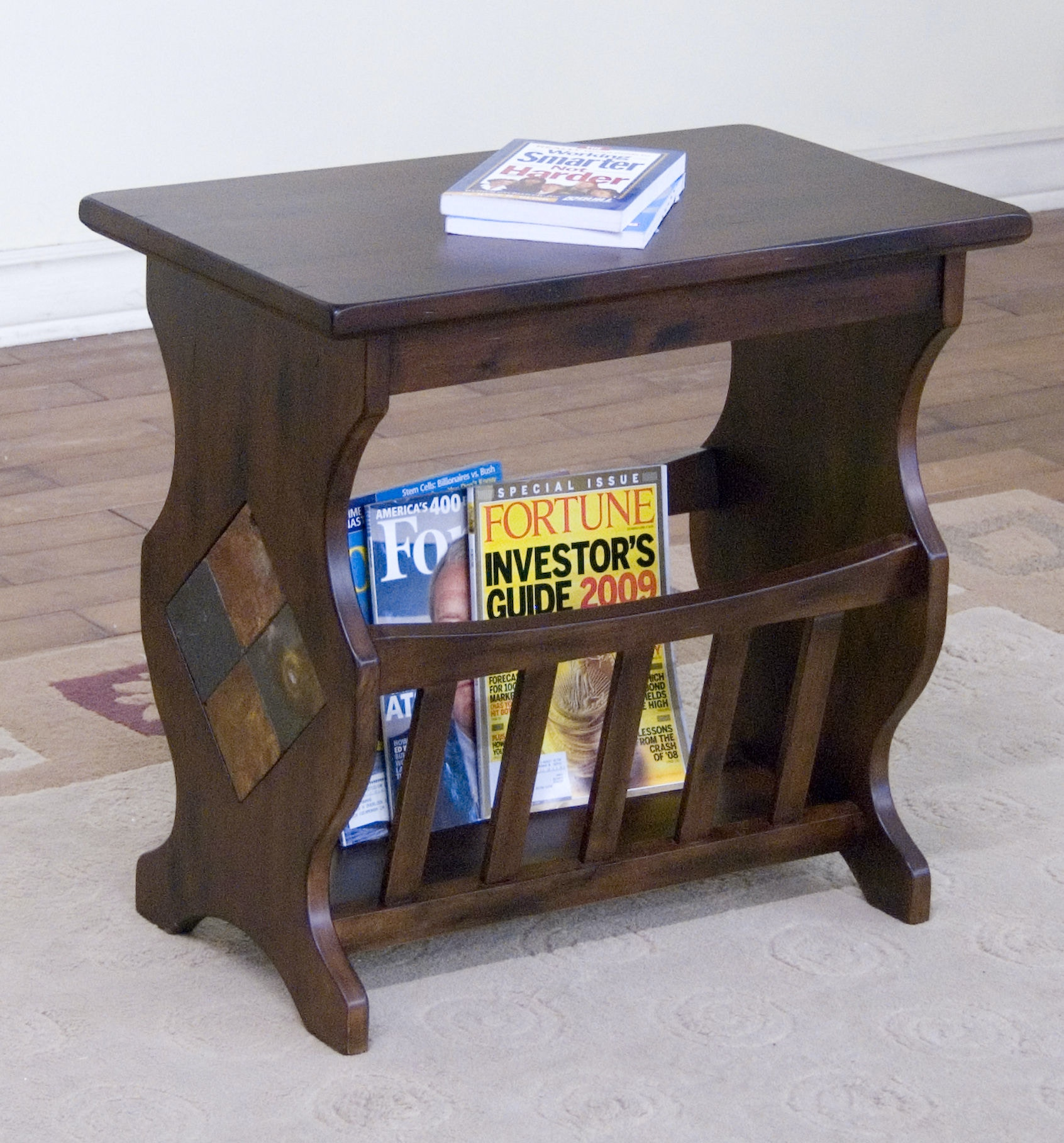 Santa Fe Magazine Table