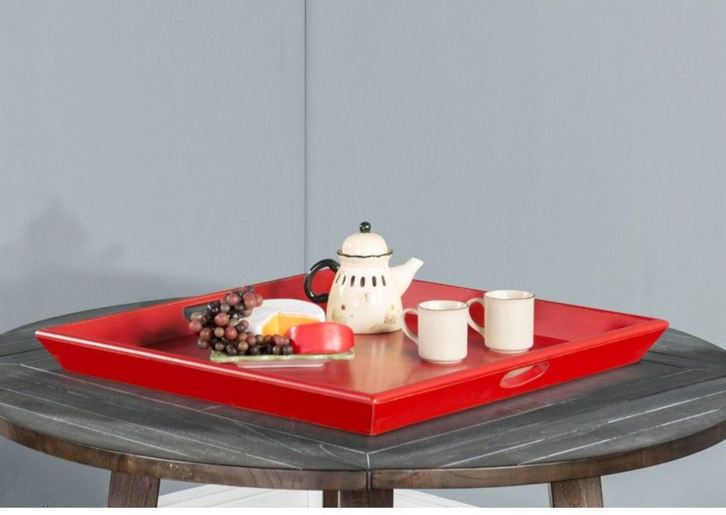 Super Sunny Designs Accessories Scarlet Sun Ottoman Tray 2195Ss Gmtry Best Dining Table And Chair Ideas Images Gmtryco