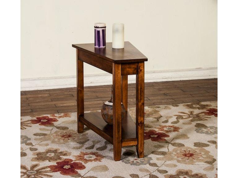 Sunny Designs Living Room Sedona Chair Side Table 2226RB - Joe ...