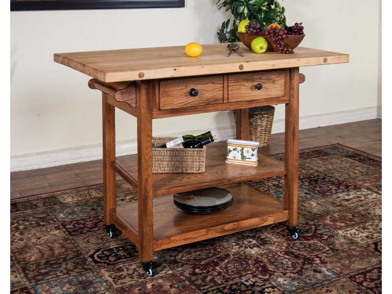 Sunny designs kitchen butcher block table with drop leaf 2238ro sunny designs butcher block table with drop leaf 2238ro watchthetrailerfo