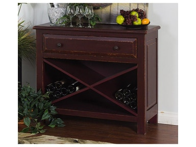 Sunny Designs Red Accent Chest 2270R