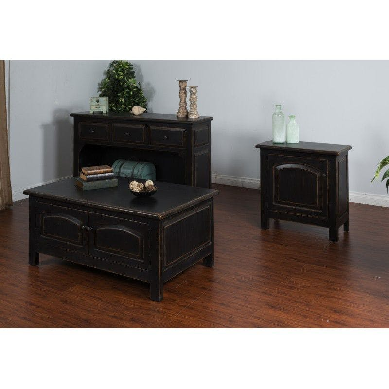 Picture of: Sunny Designs Living Room Black Accent Tables 2271b Schmitt Furniture Company New Albany In