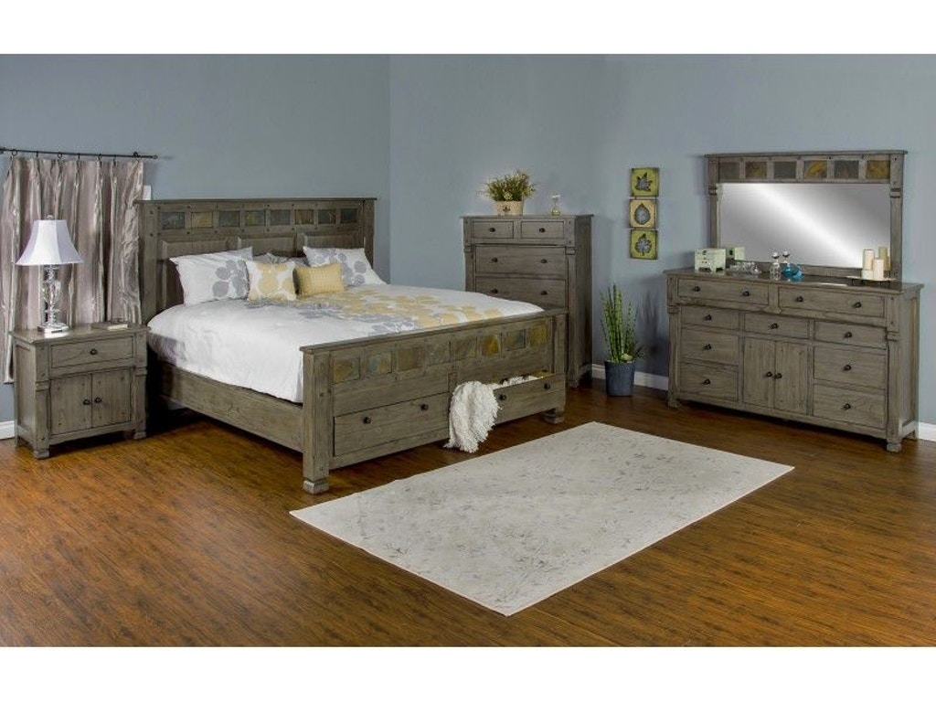 Sunny Designs Bedroom Scottsdale Queen Bed 2322cg Q