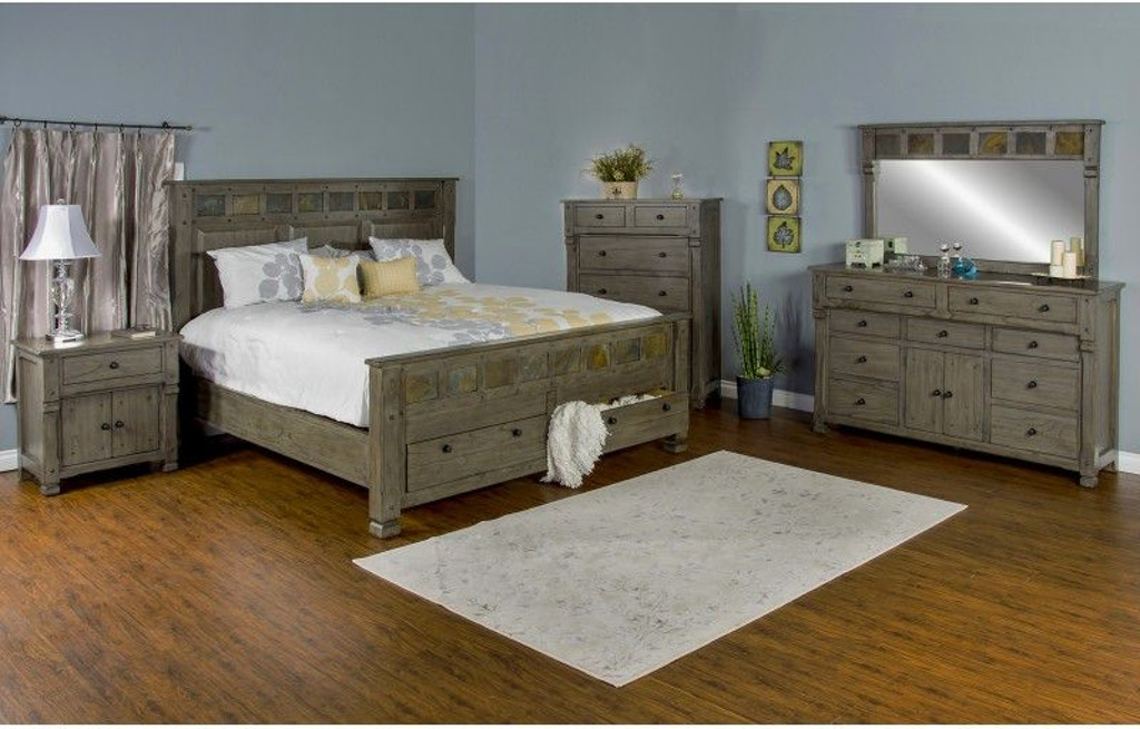 Sunny Designs Bedroom Scottsdale Queen Bed 2322CG-Q - Budget ...