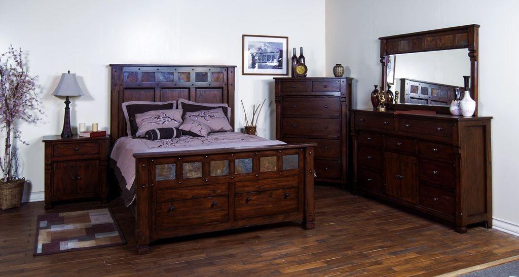 Sunny Designs Bedroom Santa Fe Queen Bed 2322DC-Q ...