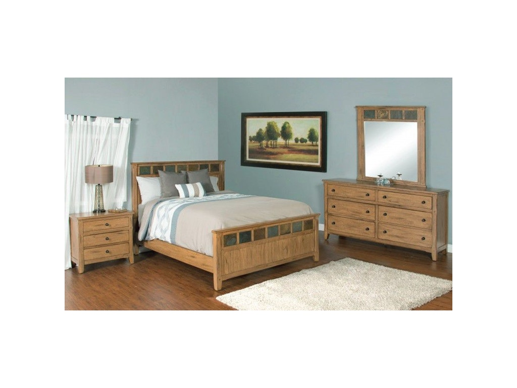 Sunny Designs Bedroom Headboard 2334ro Ekh China Towne Furniture Solvay Ny Syracuse Ny