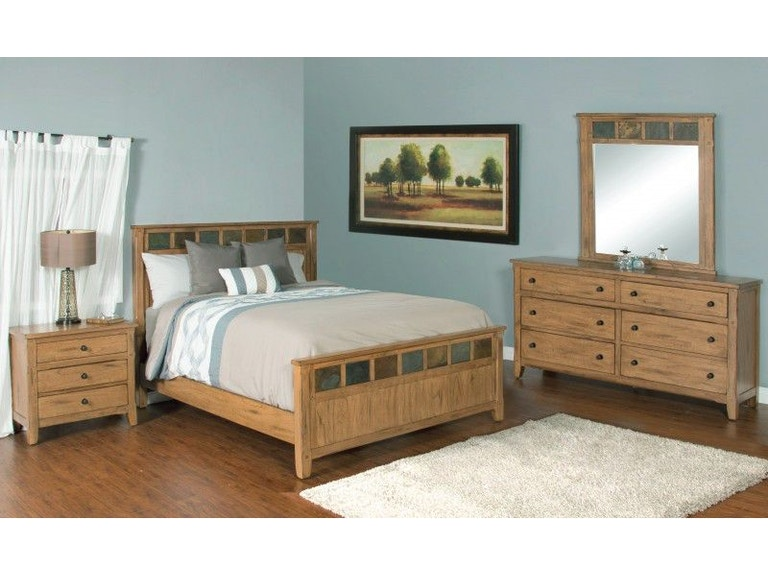 Sunny Designs Bedroom Sedona Petite Queen Panel Bed 48ROQ Adorable Sunny Designs Bedroom Furniture