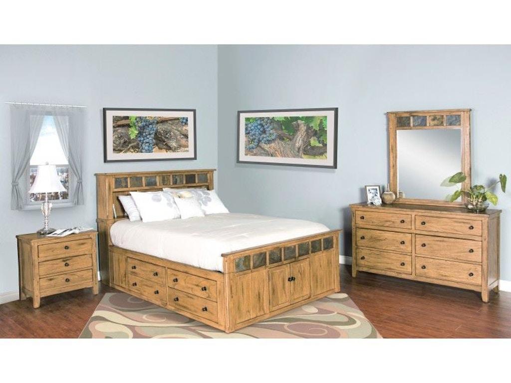 Sunny designs bedroom headboard 2334ro sqh china towne furniture solvay ny syracuse ny for Sunny designs bedroom furniture