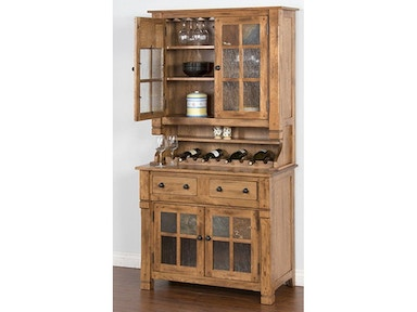 Hutch Buffet, 2pc/Set 2412RO