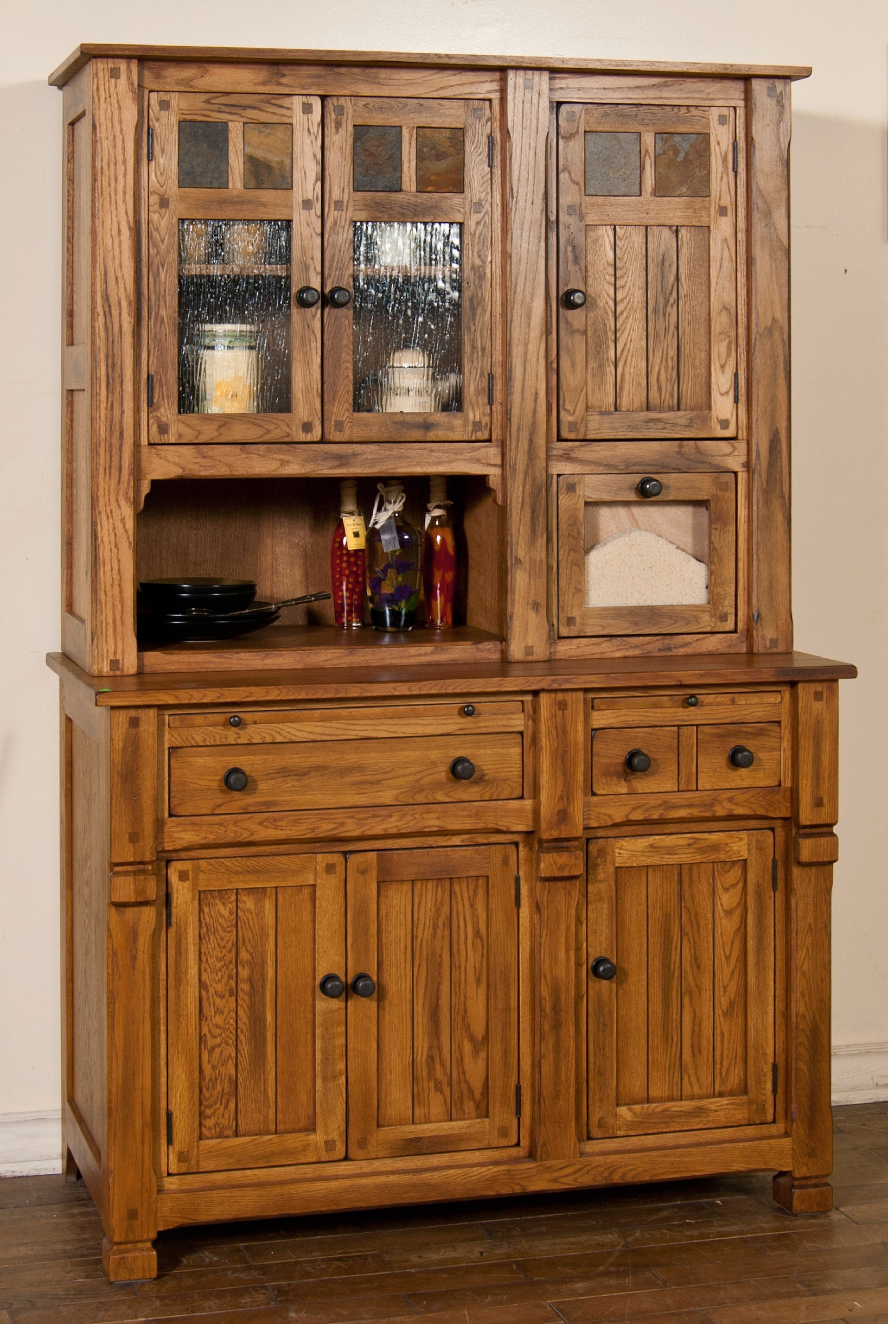 shop our sedona hutch buffet by sunny designs 2416ro base hutch rh tahans com hutch and buffet cabinets hutch and buffet set