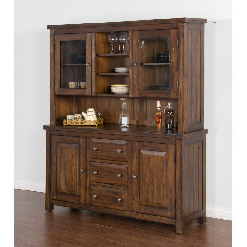 Sunny Designs China Hutch And Buffet Tuscany 793482P