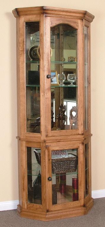 Sunny Designs Living Room Sedona 5 Side Curio 2509ro