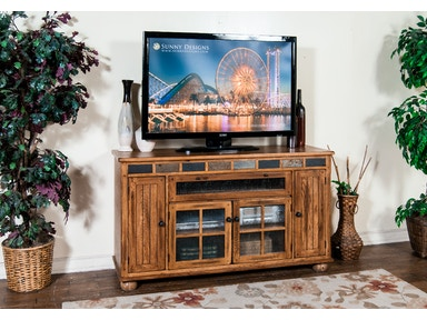 Sunny Designs Sedona Counter Height TV Console 2728RO
