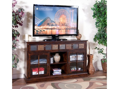 Sunny Designs Santa Fe 60 Inches TV Console 2733DC