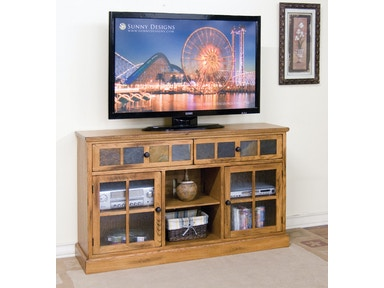Sunny Designs Sedona 60 Inches TV Console 2733RO
