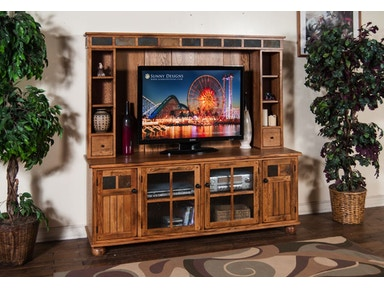 "Sunny Designs Sedona 72"" TV Console 2751RO-TC"