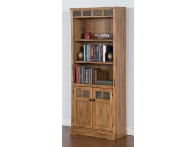 Sunny Designs Sedona Bookcase/Door 2862RO-BD
