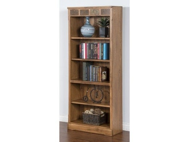 Sunny Designs Sedona Bookcase/Open 2862RO-BO
